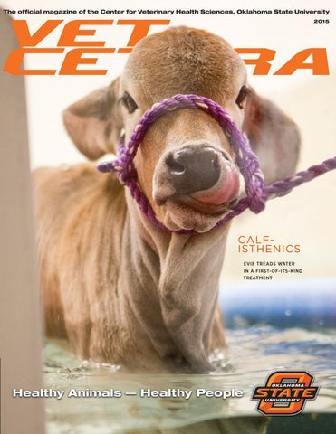 The official magazine of the Center for Veterinary Health Sciences, Oklahoma  State University