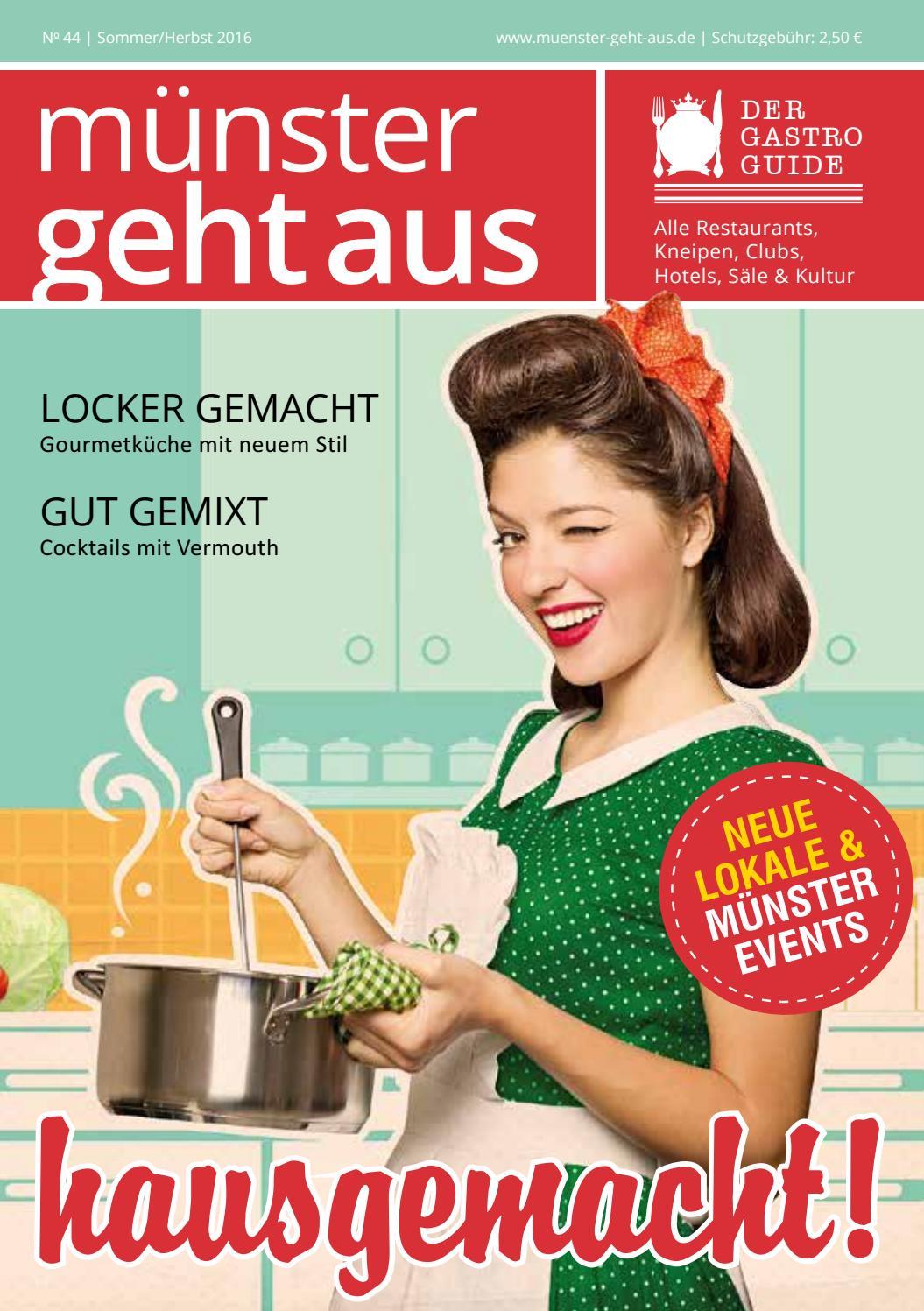 Münster Geht Aus - Sommer/Herbst Ausgabe 2016 by Tips Verlag GmbH ...