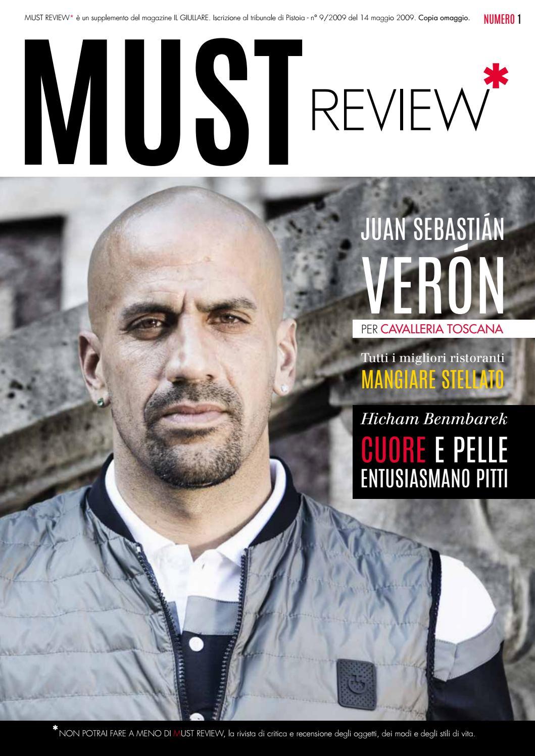 Must Review 1 Numero 1 Review (luglio 2016) by Il Giullare Editore issuu cc7f61