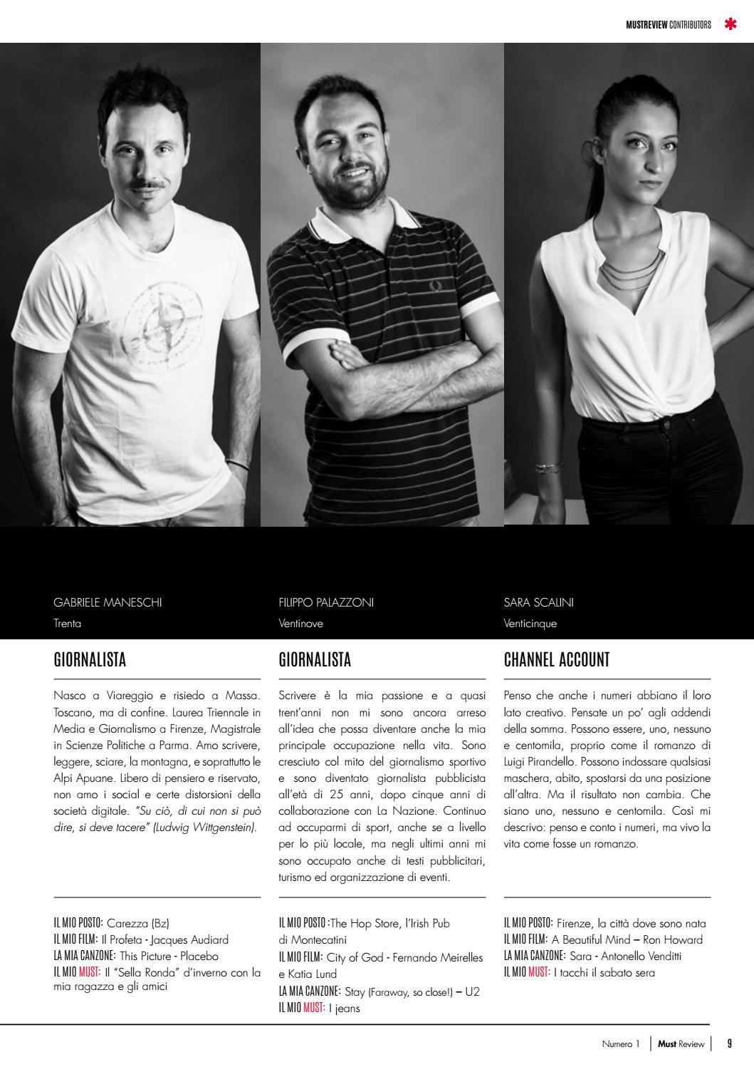 Must Review Numero 1 (luglio 2016) by Il Giullare Editore