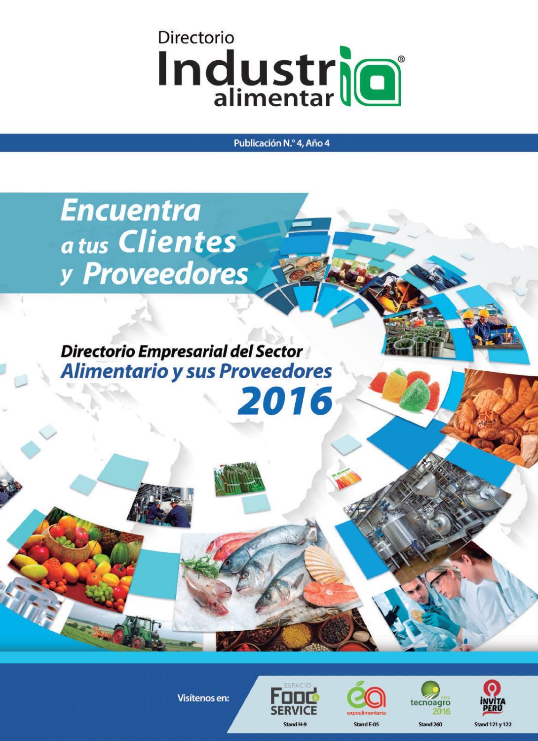Directorio Empresarial Industria Alimentaria 2016 By