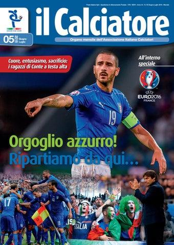 cfcf88535c640 Il calciatore giugno luglio 2016 by Associazione Italiana Calciatori ...