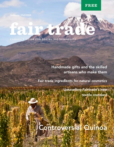 Fair Trade Magazine - Summer/Fall 2016 Edition