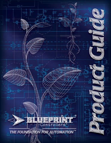 Blueprint controllers product profiles by bwgs issuu welcome to blueprint controllers the foundation for automation blueprint controllers instruments manage light temperature humidity and co2 to create malvernweather Images