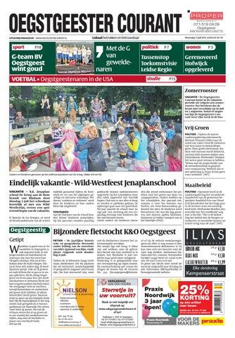 Praxis Hangmat Standaard.Oc Week 28 16 By Uitgeverij Verhagen Issuu