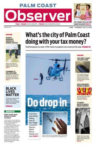 Palm Coast Observer Online 07-14-16 by Brian McMillan - issuu