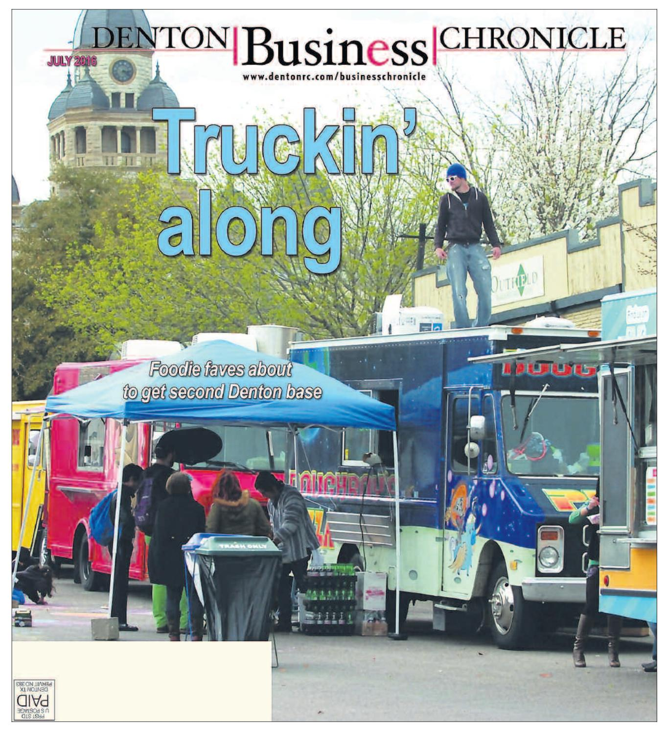 July Denton Business Chronicle 2016 by Larry McBride issuu