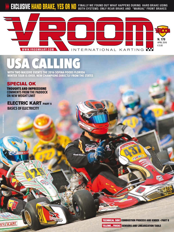 Vroom Kart International #178 - April 2016 by Vroom Kart