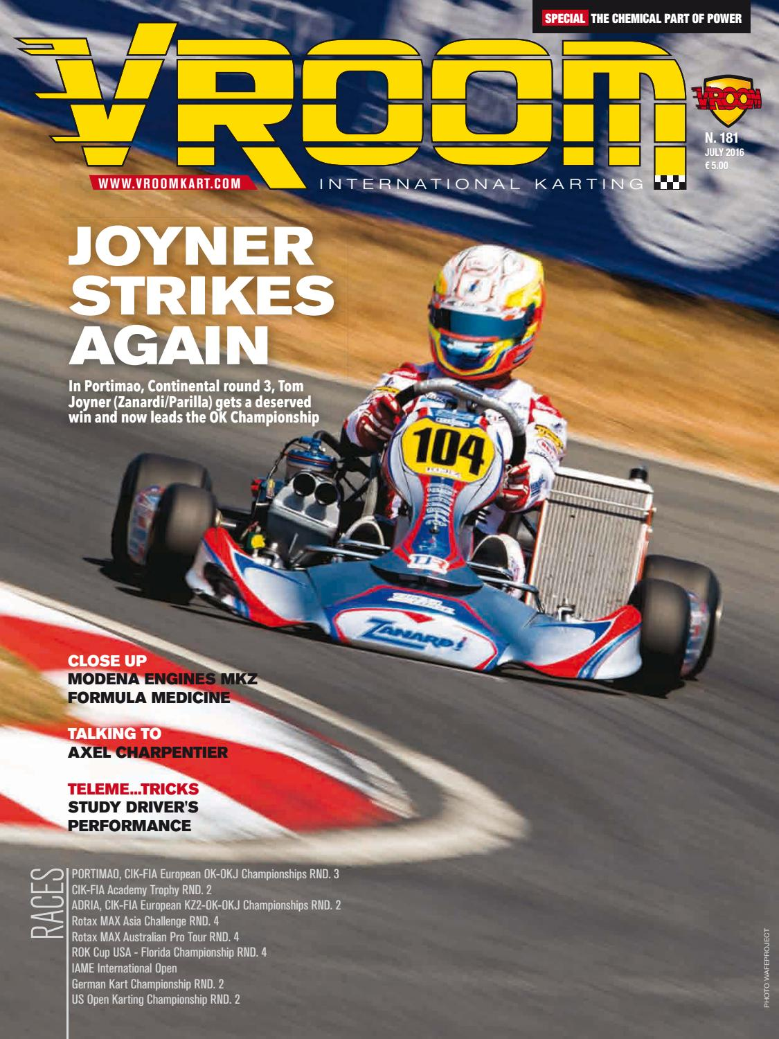 72bbae66f3130b Vroom Kart International  181 - July 2016 by Vroom Kart International -  issuu