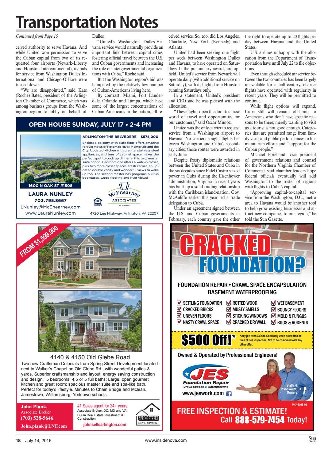 Sun Gazette Arlington, July 14, 2016 by InsideNoVa - issuu