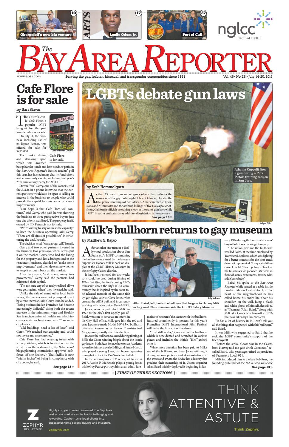 Bay Area Reporter : July edition of the bay area reporter by