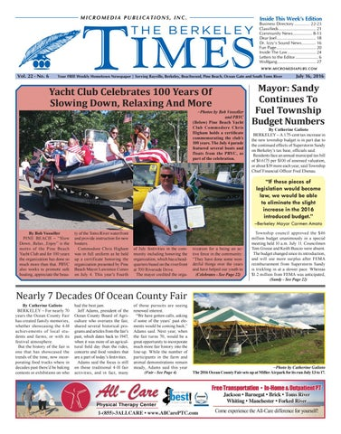 2016-07-16 - The Berkeley Times by Micromedia Publications/Jersey