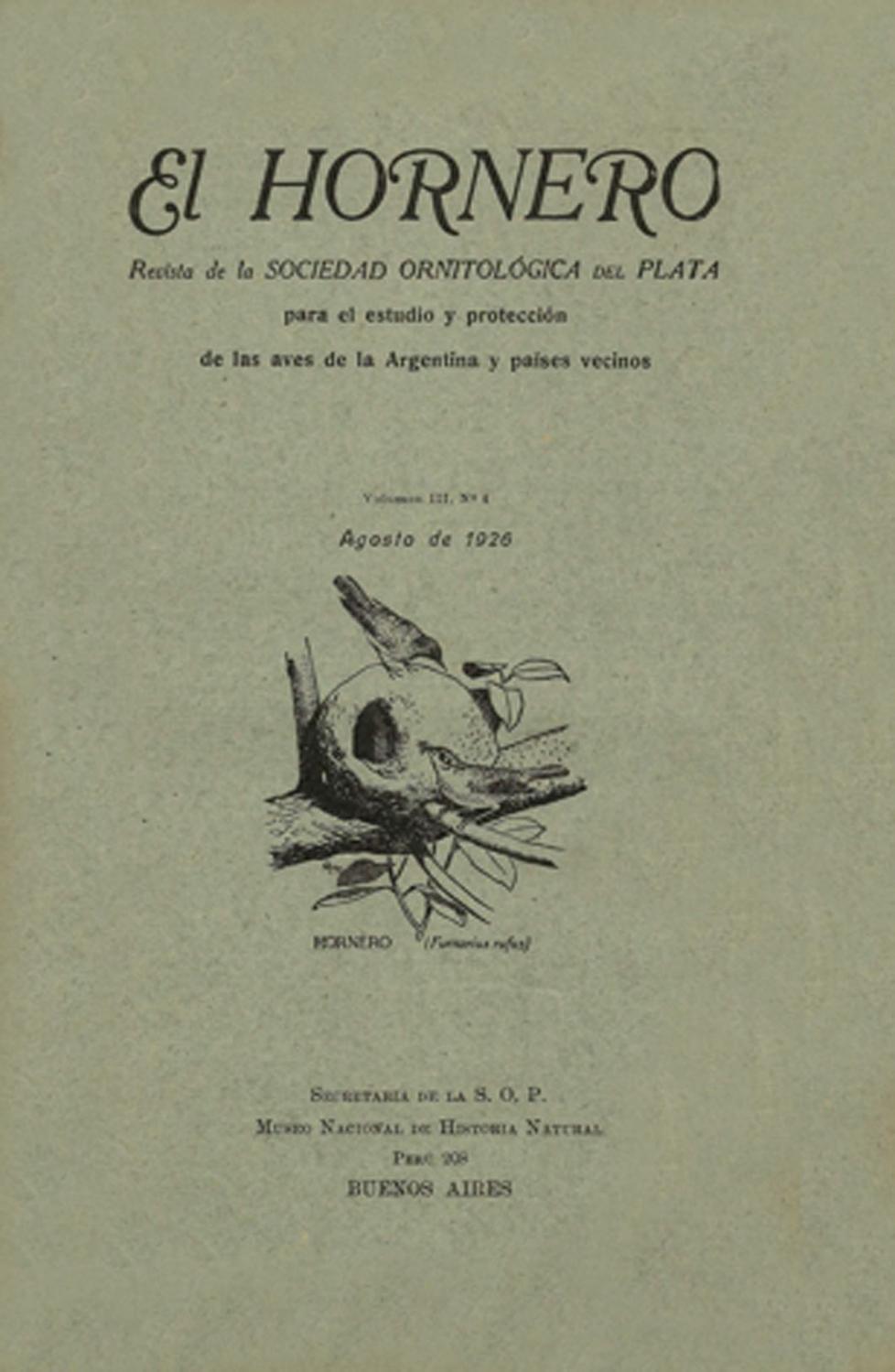 El Hornero V3n4 by Aves Argentinas - issuu