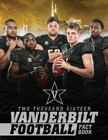 2016 Vanderbilt Football Fact Book By Vanderbilt Commodores Issuu