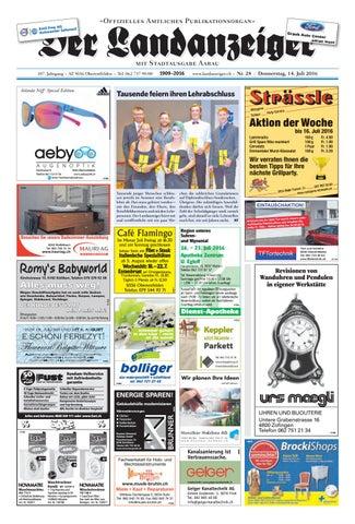 Der Landanzeiger 28/16 by ZT Medien AG - issuu