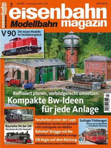 eisenbahn Modellbahn magazin Nr.10 Oktober 2017