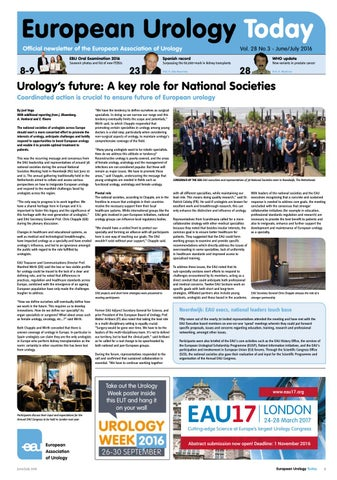 European Urology Today (EUT) June/July 2016 by European