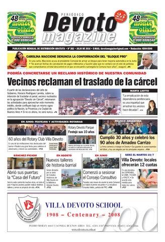Devoto Magazine Julio 2016 By Marcelo Abrevaya Issuu