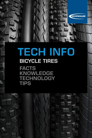 Shwalbe Bicycle Tires Facts Knowledge Technology Tips By