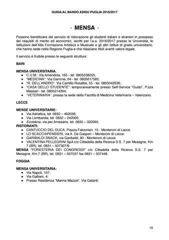 0d10c275a3 GUIDA BANDO ADISU PUGLIA 2016/17 by Link Lecce - issuu