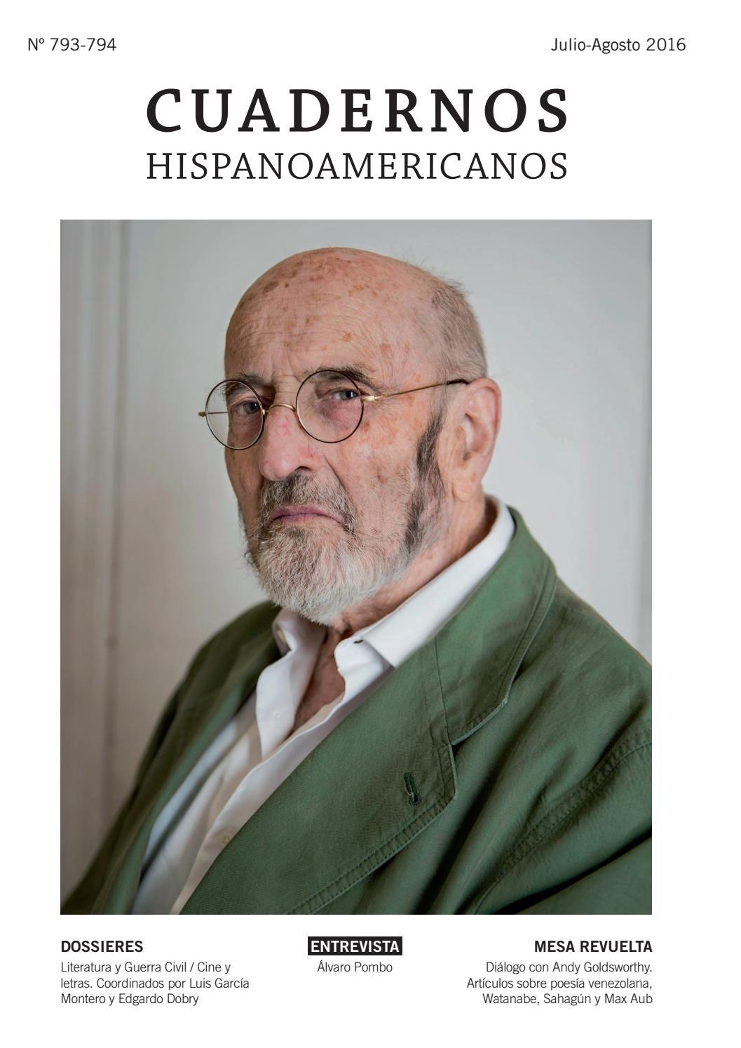 Cuadernos Hispanoamericanos (Julio y agosto de 2016) by AECID ...