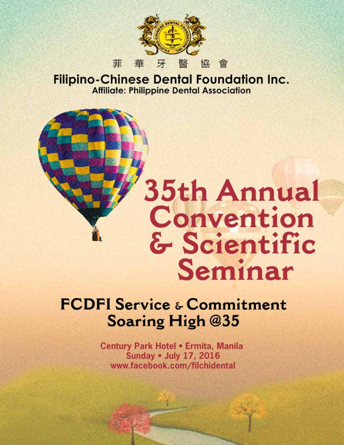 FCDFI Souvenir Program 2016 by Jimmy Hilario - issuu