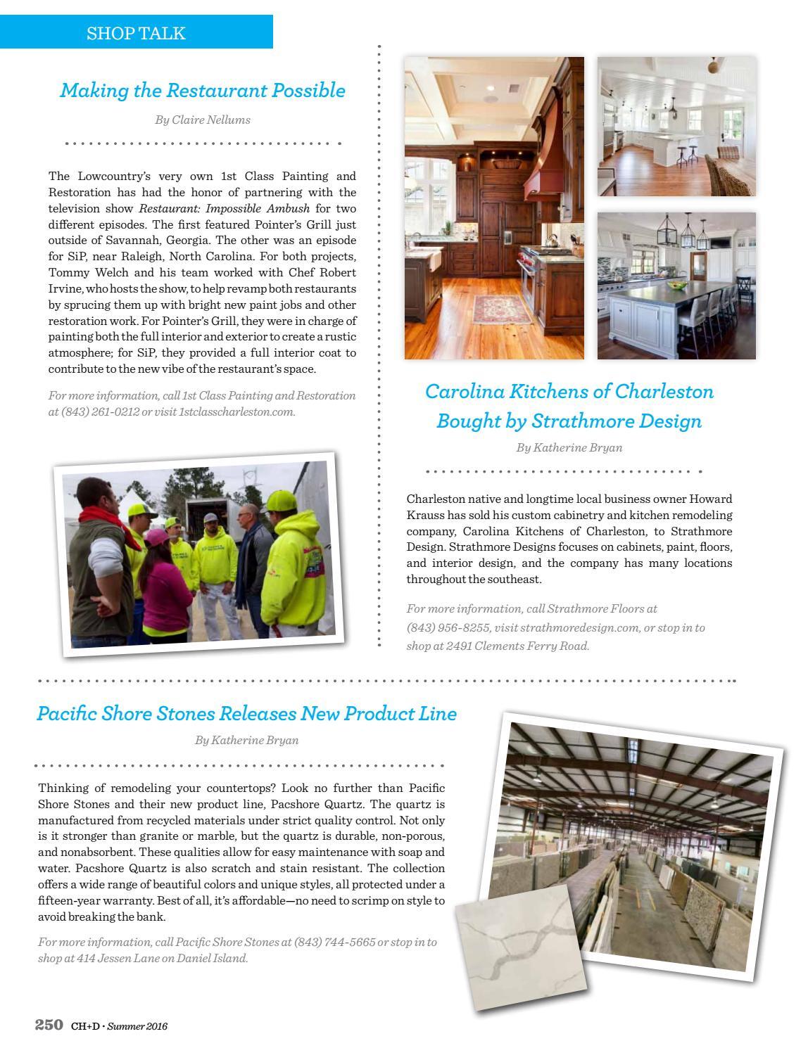 Charleston Home + Design Magazine - Summer 2016 by Charleston Home + ...