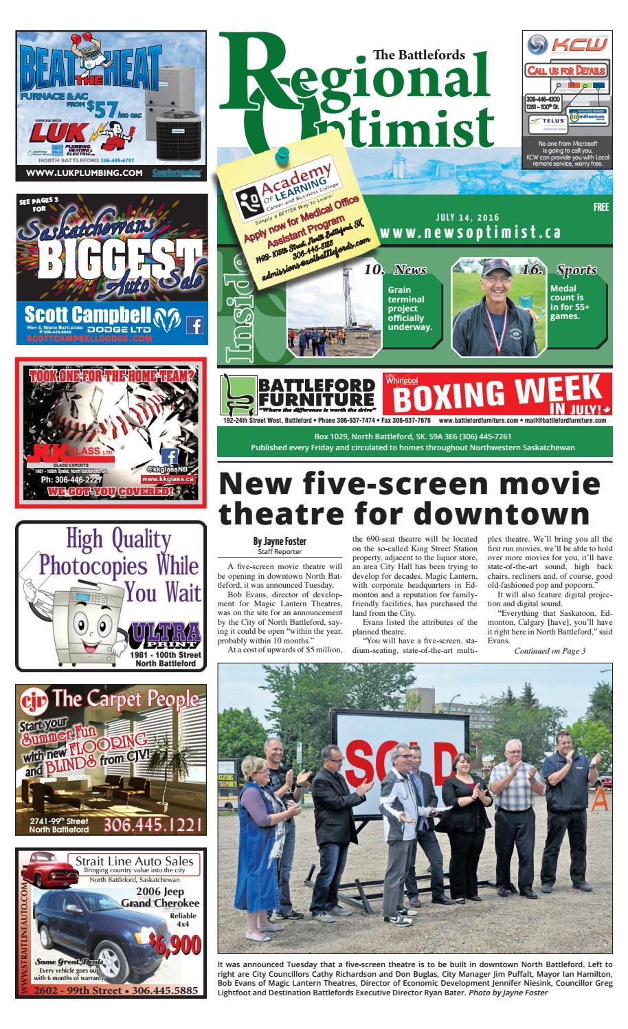 Regional Optimist July 14 by Battlefords News Optimist - issuu