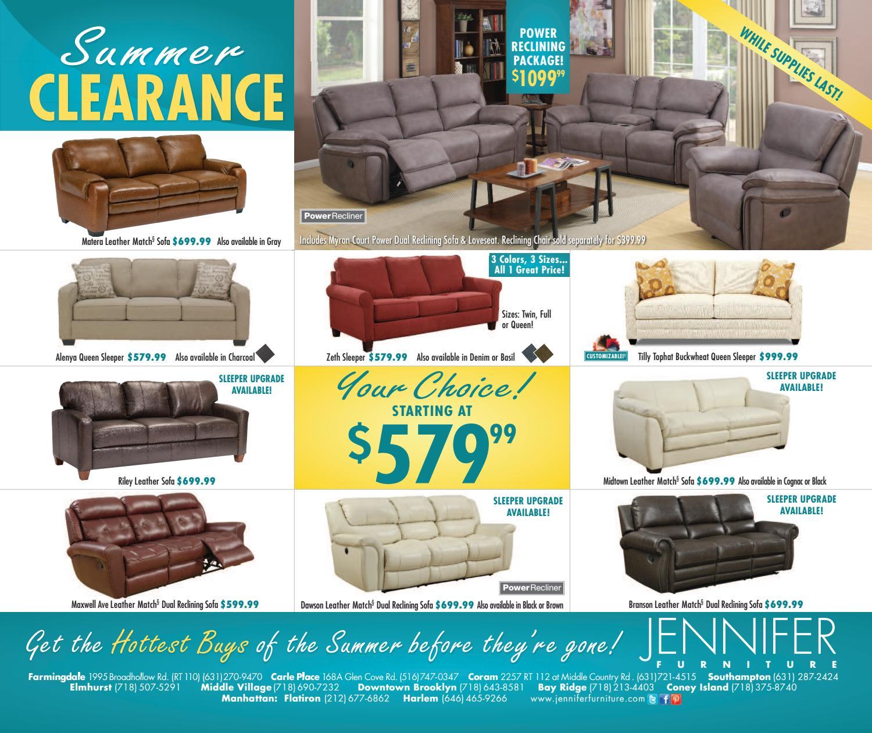Summer Clearance Insert By Jennifer Furniture Issuu