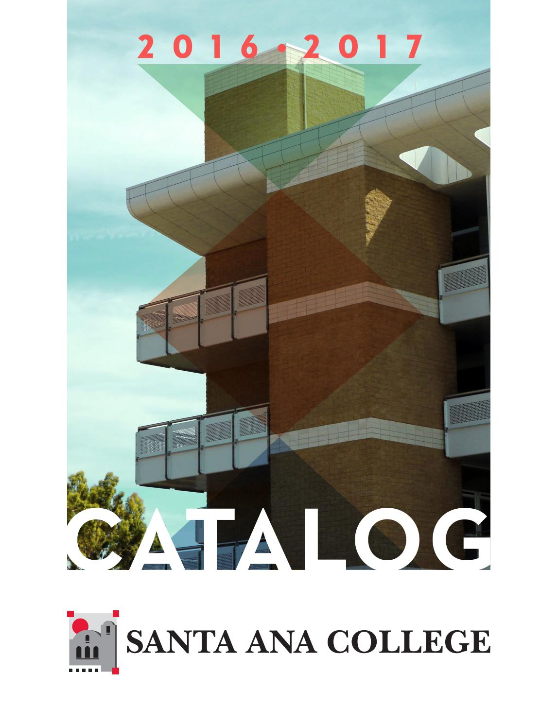 Santa Ana College Catalog 2016 2017 By Issuu Automatic Cut Off Staircase Light Circuit Electronic Circuits Free