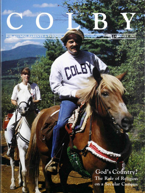 Colby Magazine Vol 80 No 1 By College Libraries Issuu Handle Rem Kiri Kc Mio