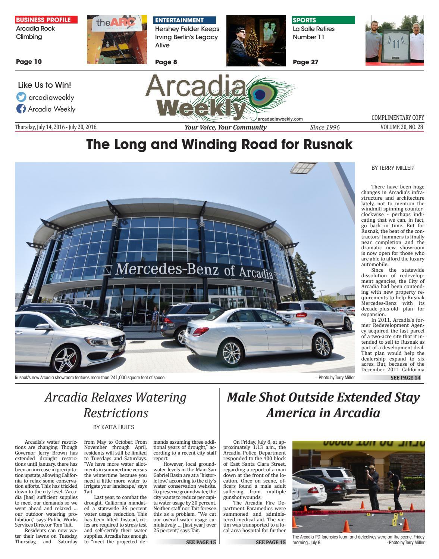 2016 07 14 Arcadia By Beacon Media News Issuu