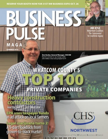 Business Pulse Magazine Summer 2016 The Publication Of