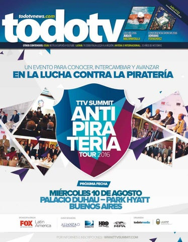 d1a17957cd2 todotv N°133 - Convergencia Show 2016 by TodotvMedia - issuu
