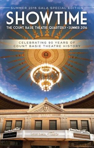 Summer 2016 By Count Basie Theatre Issuu