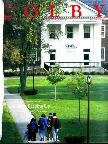 f743fc66b0d Colby Magazine vol. 83, no. 5 by Colby College Libraries - issuu