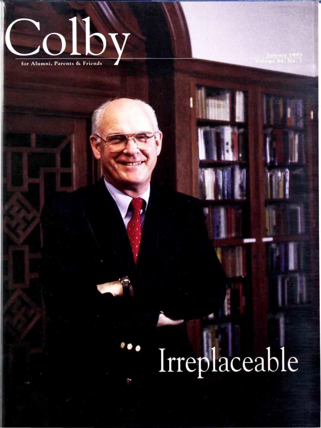 Colby Magazine vol  84, no  1 by Colby College Libraries - issuu