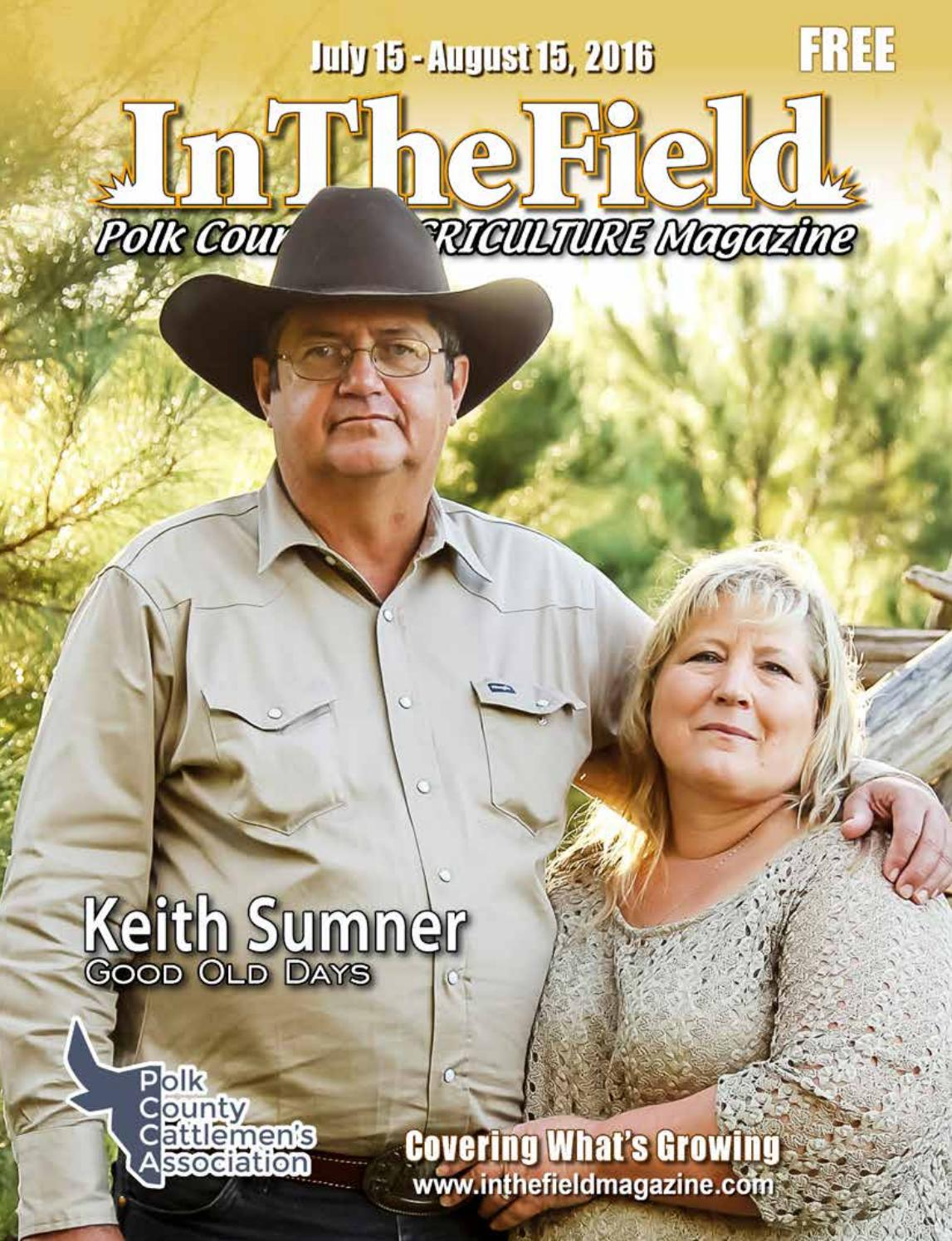 In The Field magazine Polk edition. Agriculture magazine covering Polk  County in Florida.