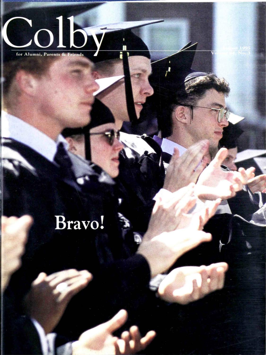 Colby Magazine vol. 84, no. 3 by Colby College Libraries - issuu
