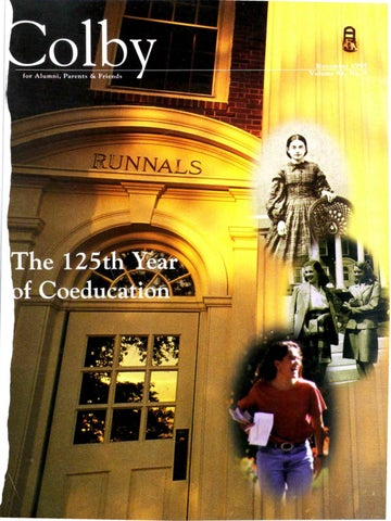 e59697235f5 Colby Magazine vol. 84, no. 4 by Colby College Libraries - issuu