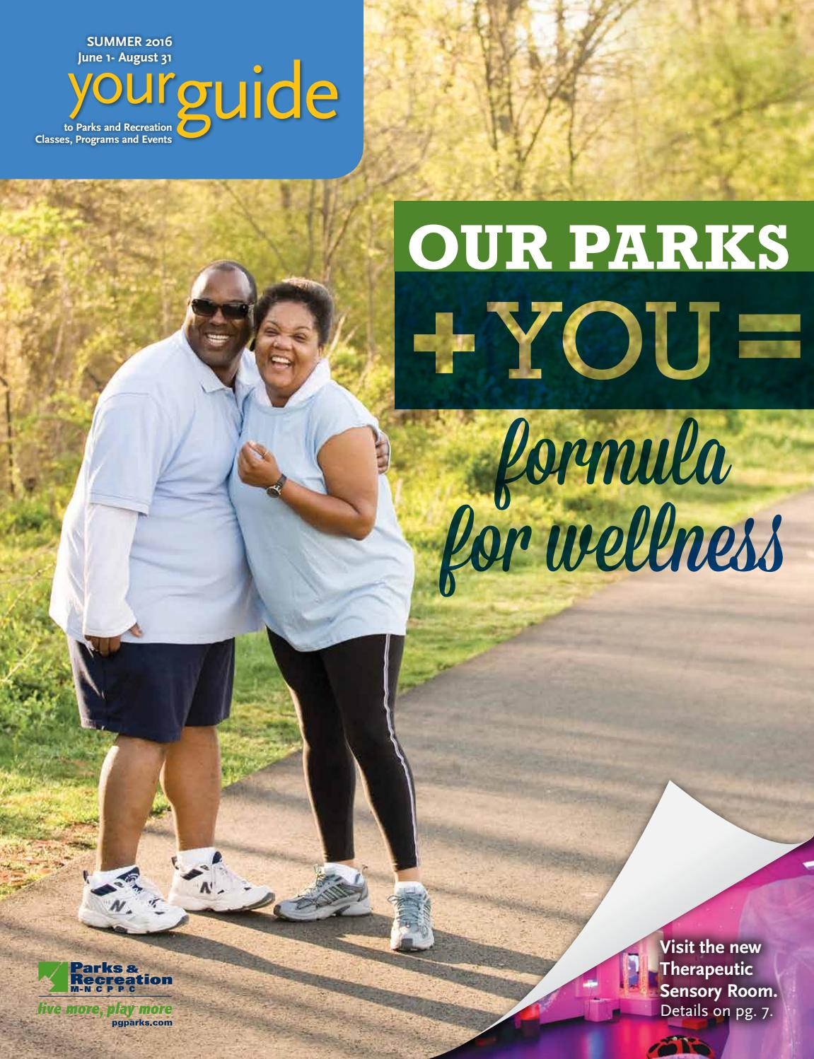 2016 Summer Guide by M-NCPPC, Department of Parks & Recreation ...