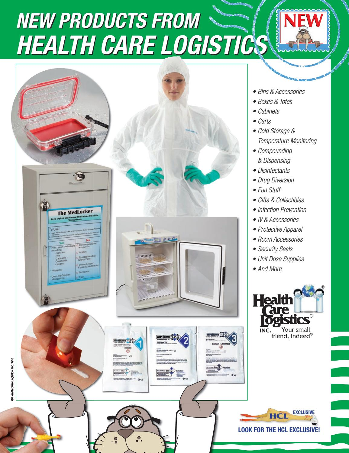 New Products by Health Care Logistics