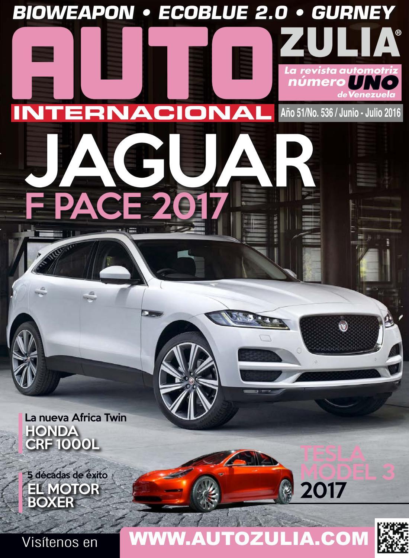 Auto Zulia - Edición junio-julio Año 2016 by Andres La Cruz - issuu