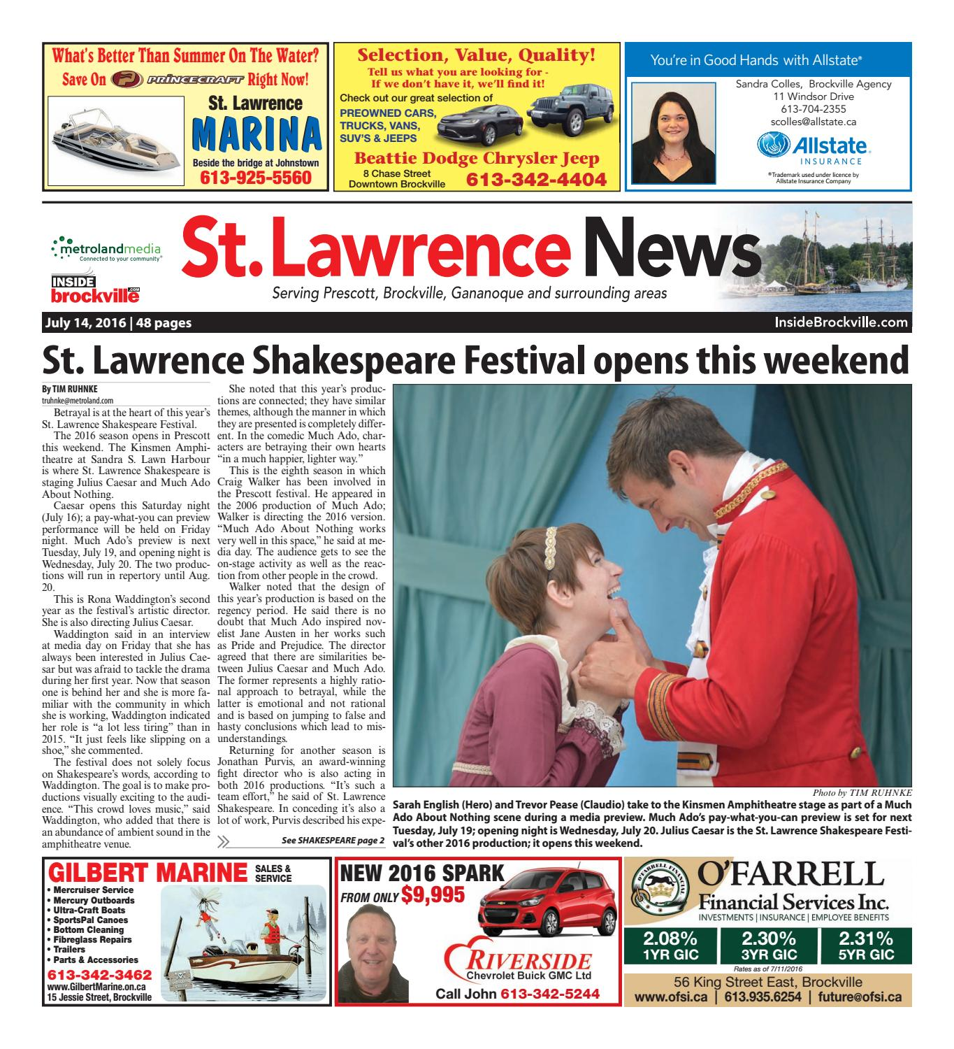 Stlawrence071416 by Metroland East - St. Lawrence News - issuu