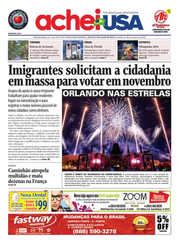 AcheiUSA 618 by AcheiUSA Newspaper - issuu 2baf40778416a
