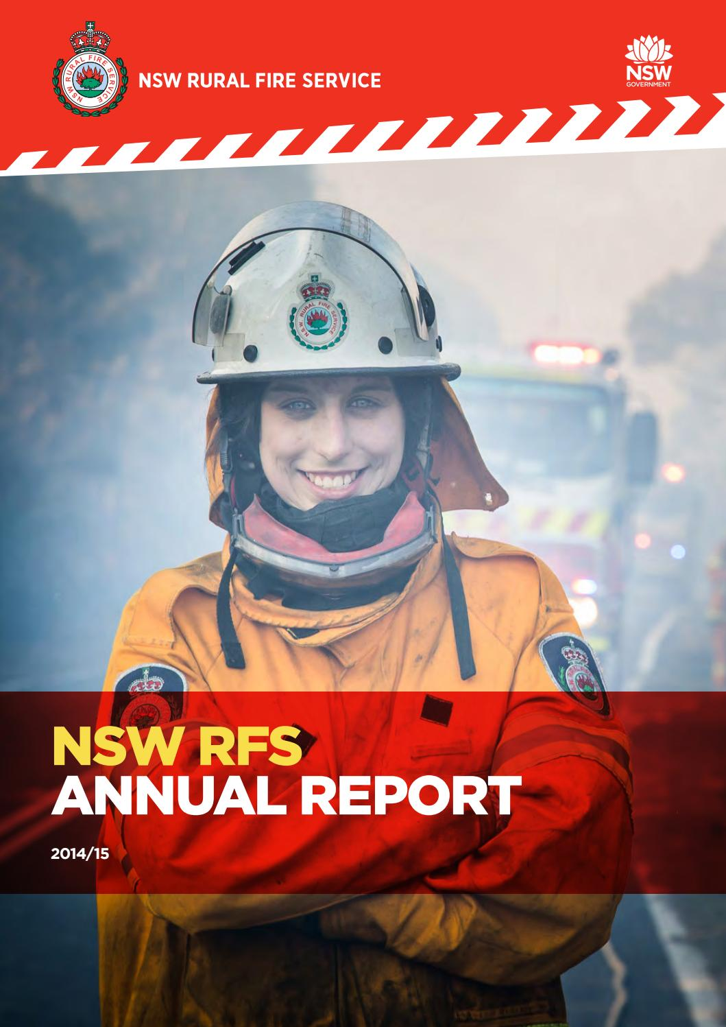 NSW RFS Annual Report 2014-15 by NSW Rural Fire Service ...