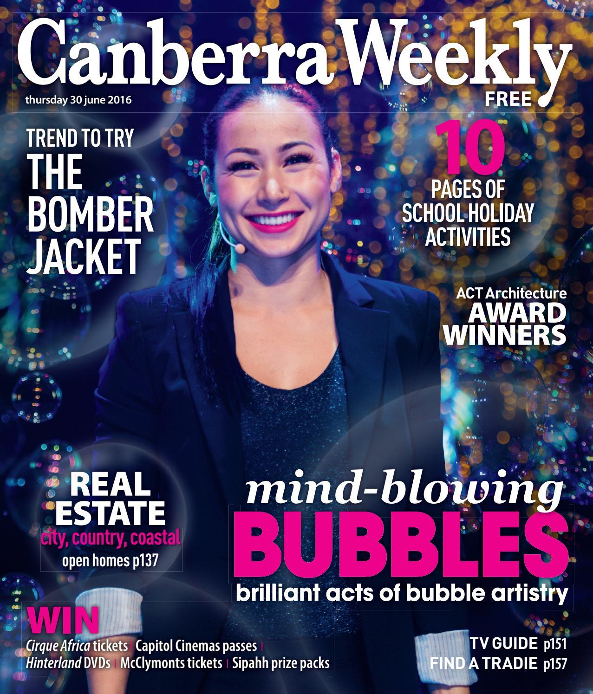 54adb921adf 30 June 2016 by Canberra Weekly Magazine - issuu