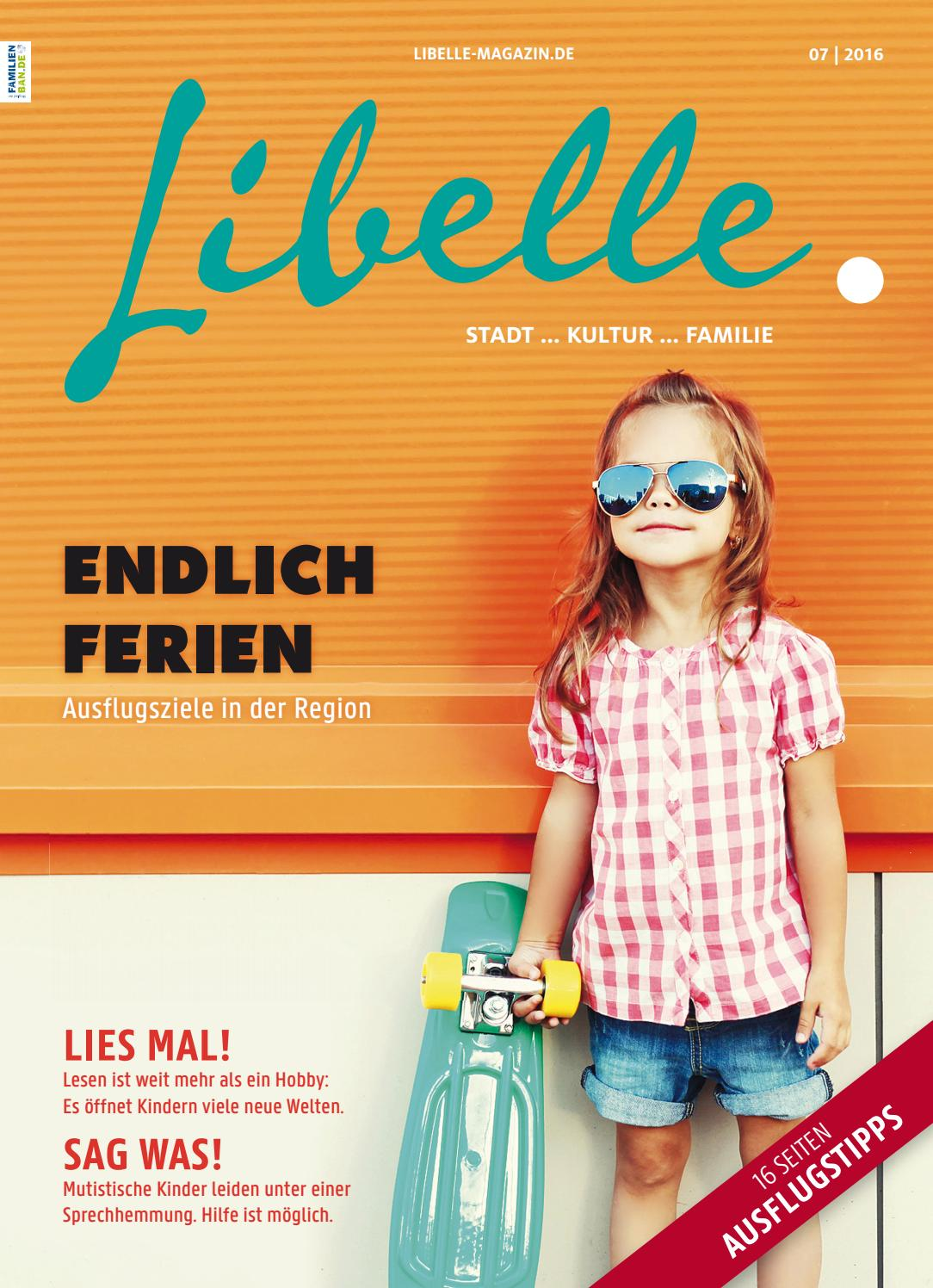 Libelle Juli 2016 by Libelle   Stadt ... Kultur ... Familie - issuu