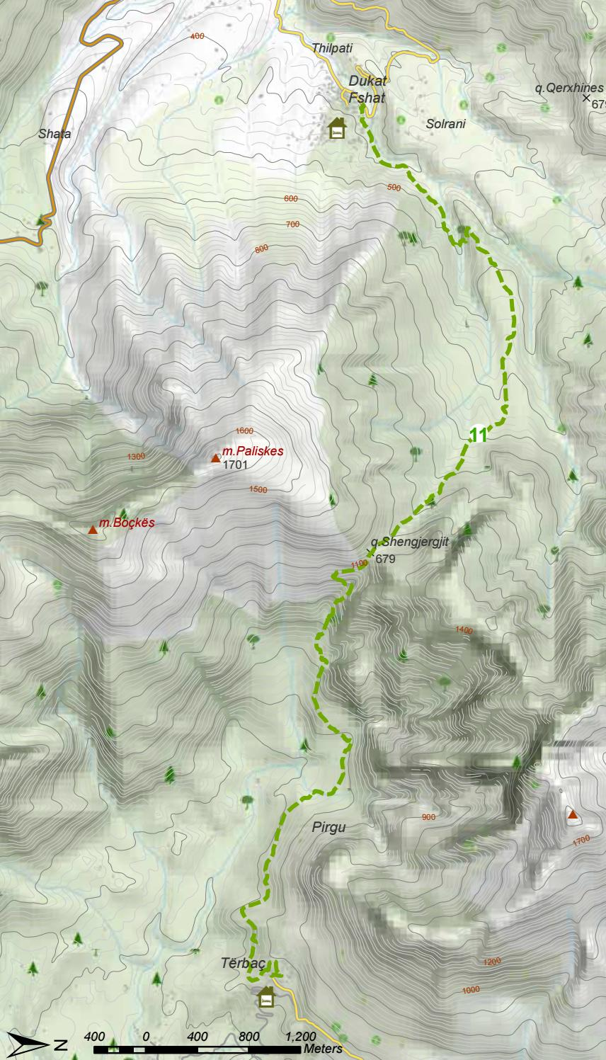 Hiking Trails in Himara Region page 11