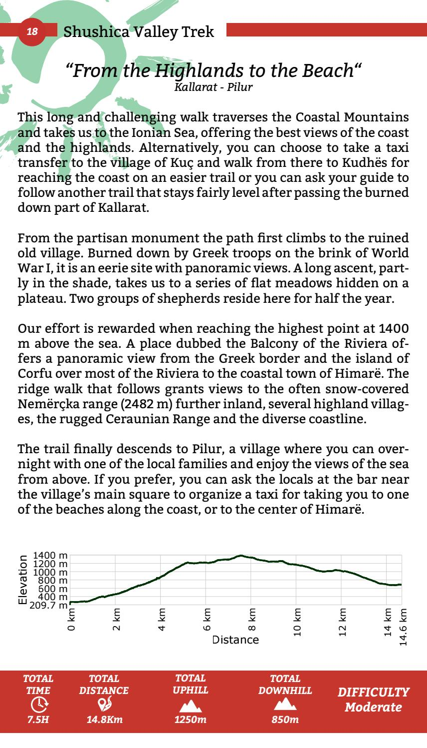 Hiking Trails in Himara Region page 18